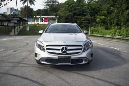 Mercedes Benz GLA Exterior Front
