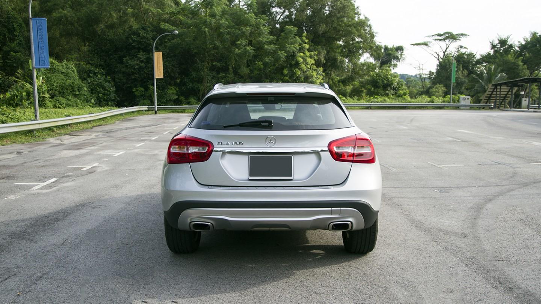 Mercedes Benz GLA Rear