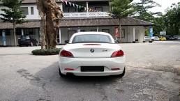 Rear exterior of BMW Z4