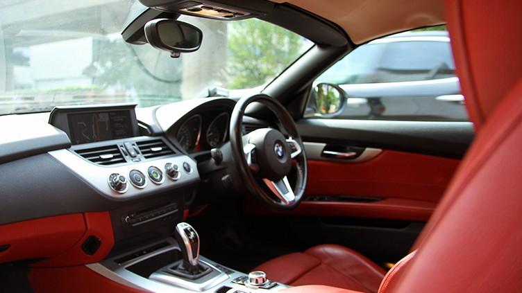 Interior of BMW Z4