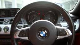 Steering wheel of BMW Z4
