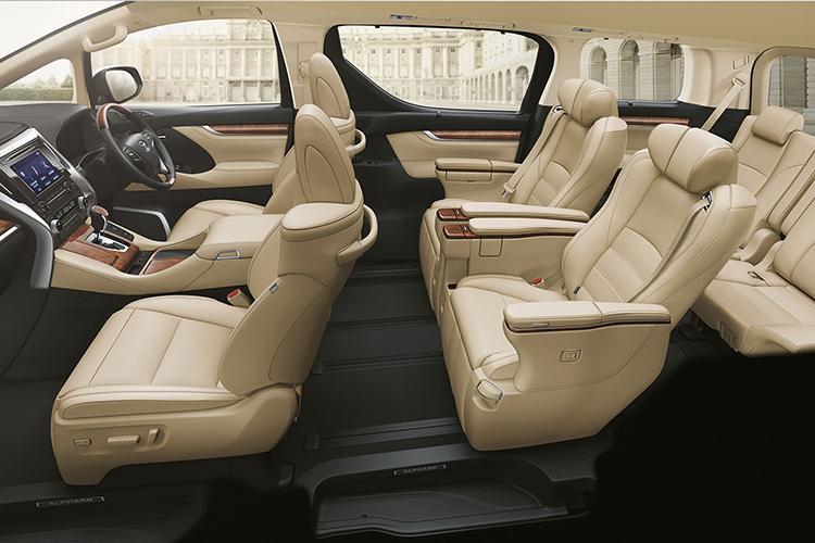 Uber Lease Car >> Toyota Alphard 2.5 S – Alpha Drive