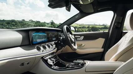 Mercedes-benz e220d front seats
