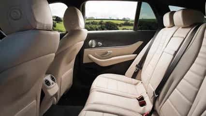 Mercedes-benz e220d rear seats