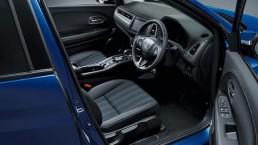 honda vezel hybrid front driver seat