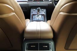 Audi A8 front dash view