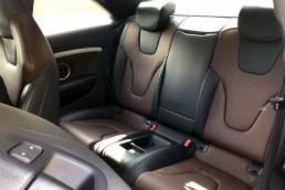 Audi S5 rear seats view