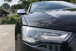 Audi S5 headlights