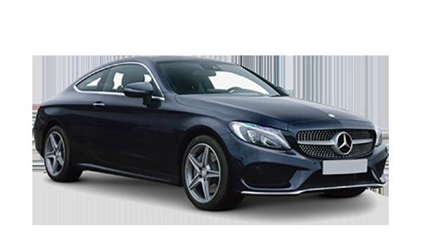 Mercedes-benz C-class coupe transparent